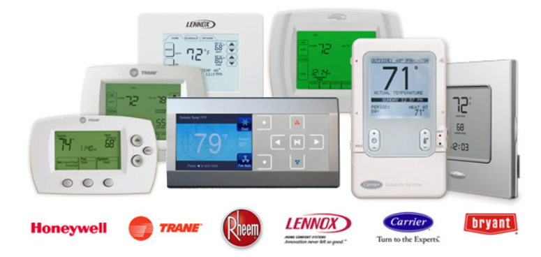 Digital and Programmable thermostat installs