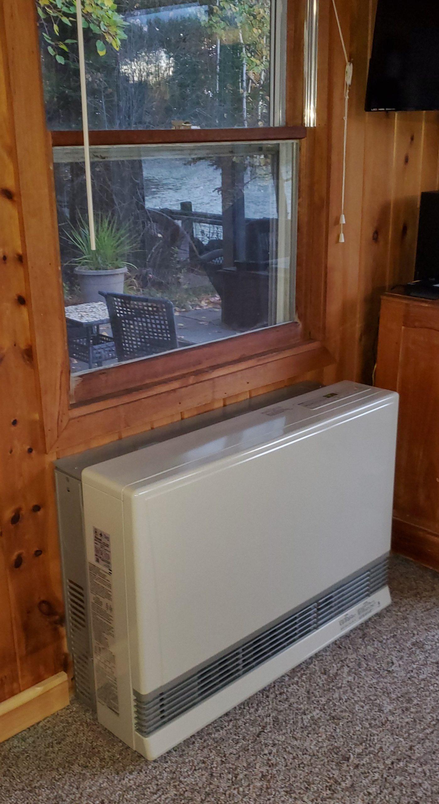 Rinnai wall heater installations