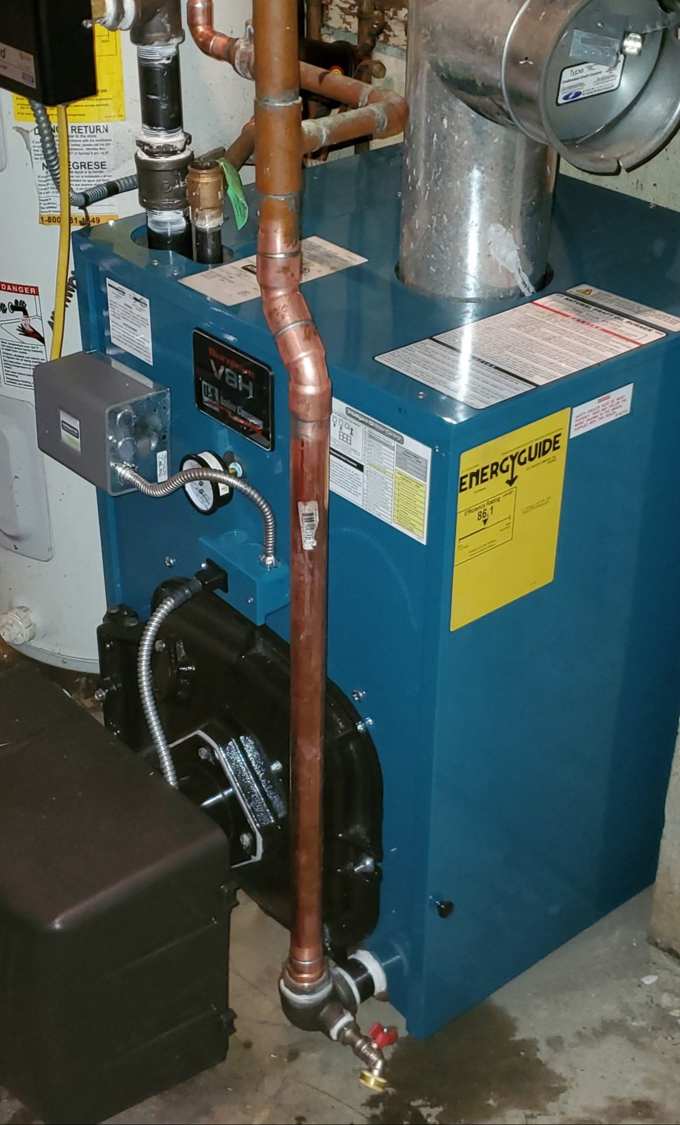 Image to show reader a boiler while reading causes of a boiler not heating