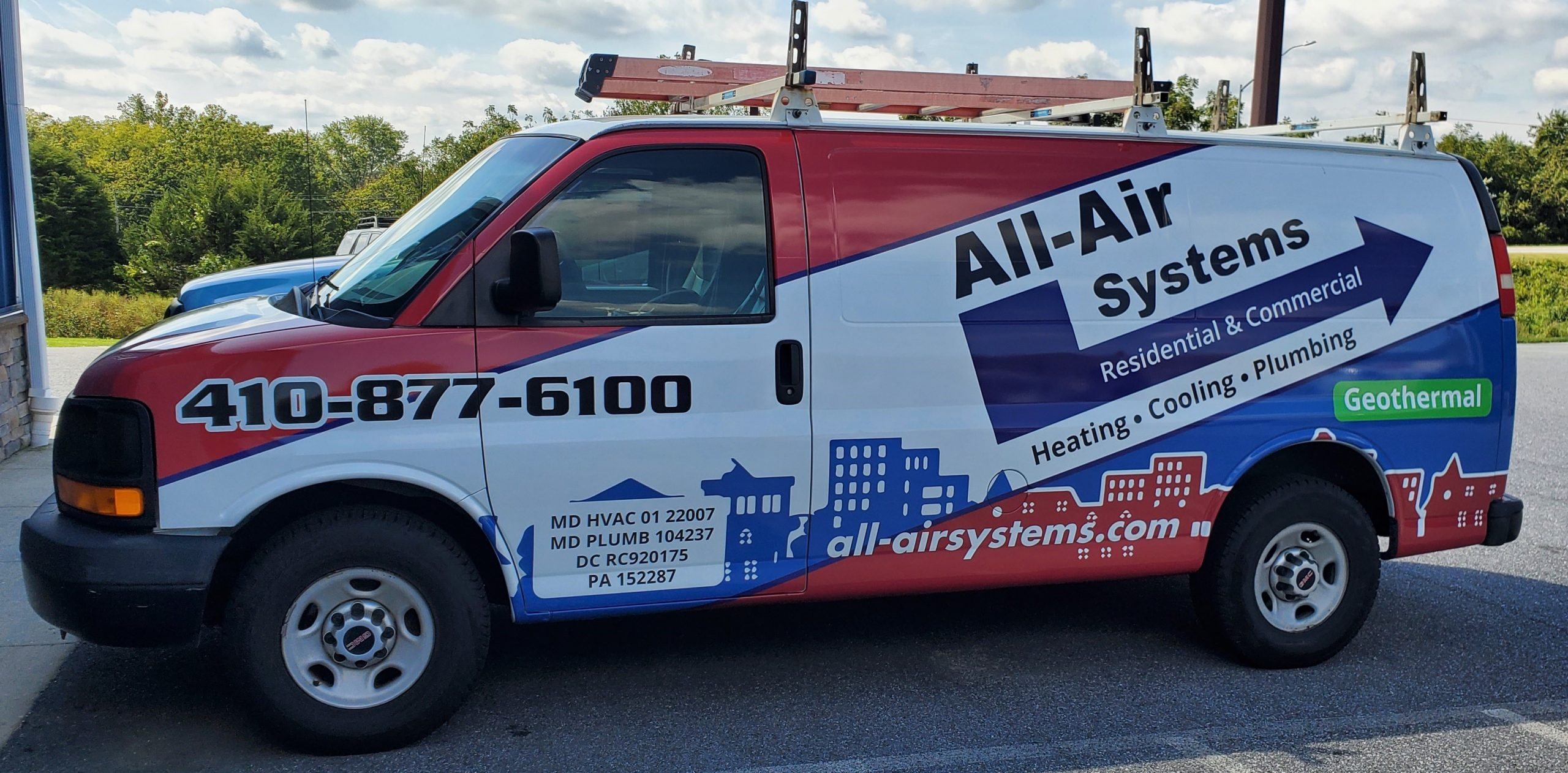 All-Air Systems of Maryland Service Van